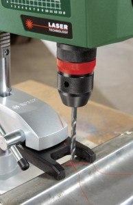 Bohrständer von Bosch mit Lasertechnologie