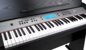 Die Klaviatur des FunKey DP-61 II Digitalpiano.
