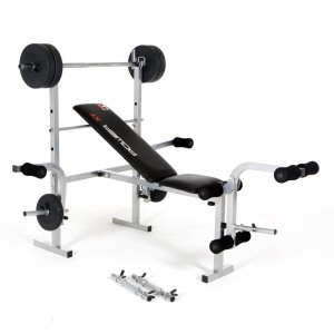Mit dem Training mit einer Hantelbank kann man den ganzen Körper fit machen.