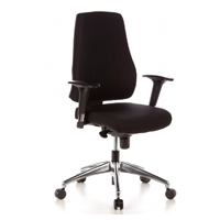 Mit dem Pro-Tec 200 Bürostuhl lassen sich auch längere Arbeitstage gut überstehen