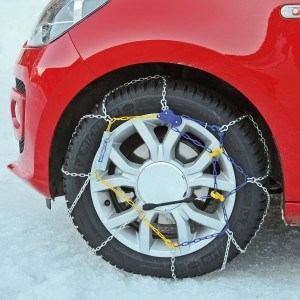 Handhabung der Michelin 89803 Schneekette M1 Extrem Grip 64, ABS und ESP kompatibel