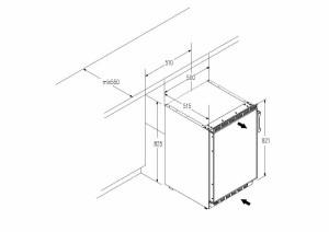 Der PKM KS82.3 Einbau-Kühl-Gefrier-Kombination für Sie getestet.