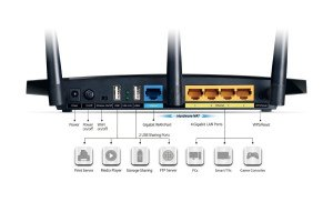 TP-Link_TL-WDR4300R_outer_im_Test_Ruekseite