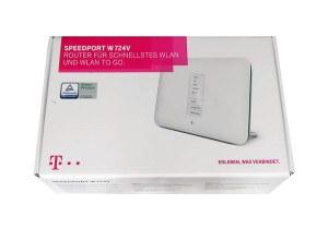 Telekom Speedport W724V WLAN-Router Verpackung