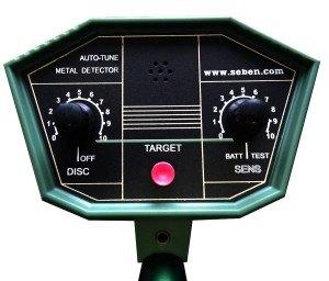 Vollautomatisches Metallsuchgerät Metalldetektor Seben Deep Target Bedienkonsole