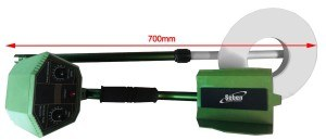 Vollautomatisches Metallsuchgerät Metalldetektor Seben Deep Target