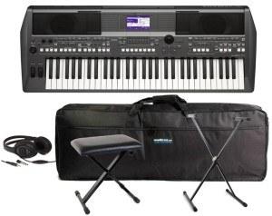 Das YAMAHA FULL PACK PSR S670 hat den 1. Platz belegt im Keyboard Test.