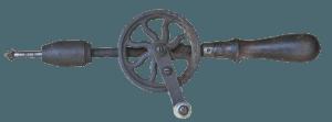 Antiker Handbohrer ohne Bohrständer