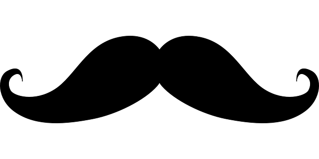 Schnurrbart-oberlippenbart