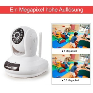 Annke SP1 Wireless-720P HD WLAN-IP-Kamera pixel