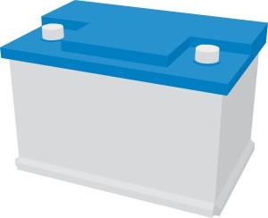 Autobatterie Bild