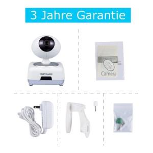 DBPOWER H.264 1280x720p Pan/Tilt IP Überwachungskamera Verpackung