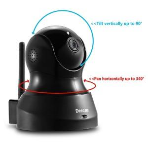 Deecam IP-Überwachungskamera TiltPan