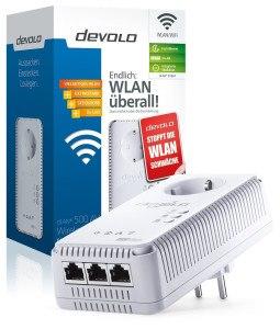 Devolo dLAN 500 AV Wireless+ Starter Kit im Test Verpackung