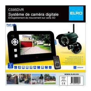 Elro digitale Funk-Überwachungskamera CS95DVR Verpackung