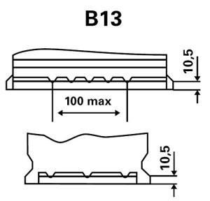 Exide Premium Carbon Boost EA770 Bodenleiste