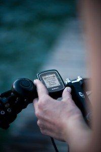 Handhabung des Garmin GPS Radcomputers Edge 200