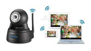 HooToo IP-Überwachungskameras App zur Überwachung von unterwegs