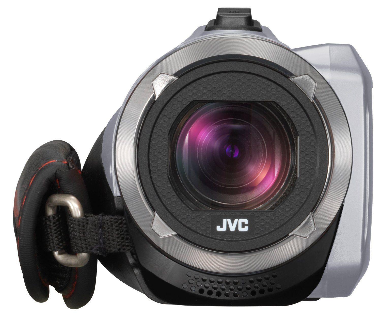 JVC GZ R310SEU Full HD Speicherkarte Camcorder Vorne