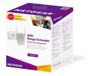 Netgear EX6150-100PES - AC1200 WLAN Dual-Band Range Extender im Test Verpackung