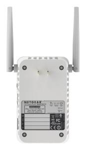 Netgear EX6150-100PES - AC1200 WLAN Dual-Band Range Extender im Test rueckseite