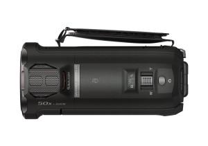 Der Akku des Panasonic HC-V777EG-K Camcorders läuft bis zu 4 Stunden.