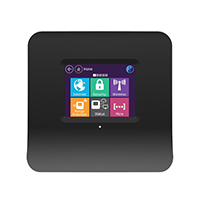 Touchscreen Wireless WLAN N Router und Repeater mit Wireless Bridge, Sicherheit, Formschönes Design