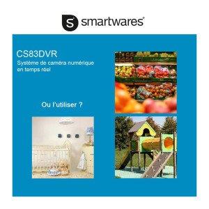 Smartwares Funk Kamerasystem CS83DVR Betrieb