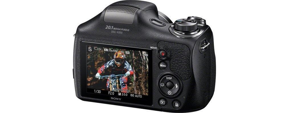 Sony Einstiegsbridge DSC-H300 3