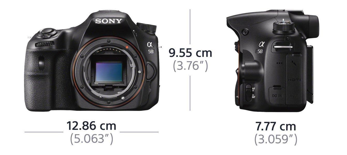 Sony SLT-A58Y SLR-Digitalkamera 2