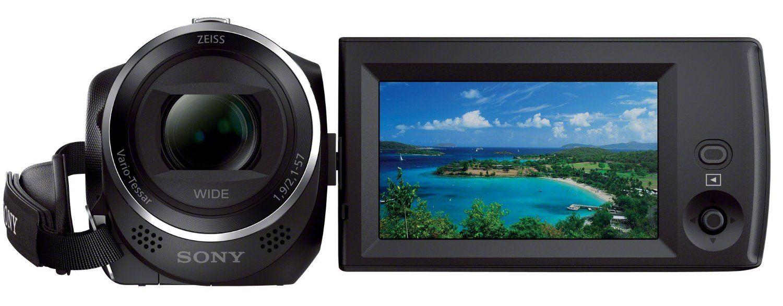 Sony HDR CX240E HD Flash Camcorder Bildschirm