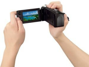 Der HDR-CX240E HD Flash ist der kleinste Camcorder von Sony.