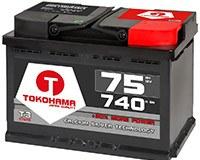 TOKOHAMA Autobatterie 75Ah Beitragsbild