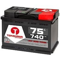 TOKOHAMA Autobatterie 75Ah im Vergleich