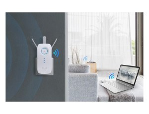 TP-Link RE450 AC1750 Dual Band WLAN Repeater im Test Hausbetrieb
