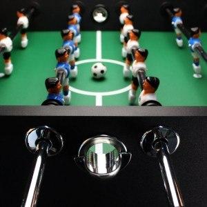 Der Ultrasport Profi Tischfußball ist optisch ein toller Tisch.