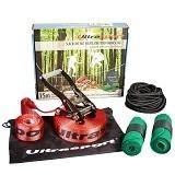 Das Ultrasport Slackline Set 15 m inkl. Baumschutz und Hilfsseil ist auf dem 2. Platz.