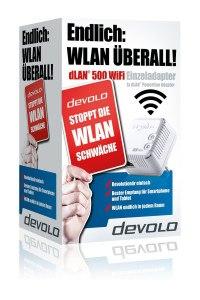 dLAN 500 WiFi Mini Starter Kit im Test Verpackung