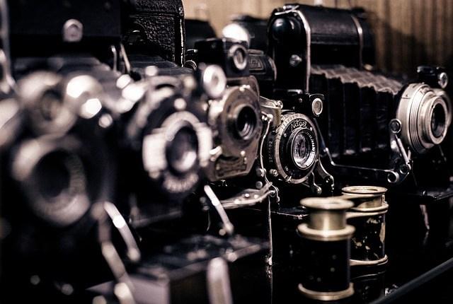 Kamera-Geschichte-Vintage