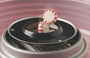 Zuckerbonbons aus der Maschine