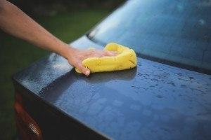 Waschen und polieren