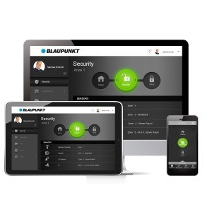 Blaupunkt Smart Home Alarm Q3000 Starter Kit App