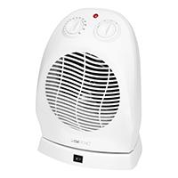Heizlüfter 2000 Watt, 2 Heizstufen schaltbar, Ventilator, Stufenlos regelbarer Thermostat, Oszillierend abschaltbar, Stabiler Tragegriff