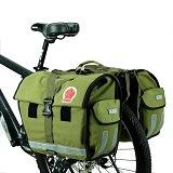 Die DCCN® wasserabweisende Doppeltasche Radtasche belegt den 5. Platz im Test.