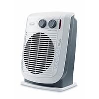 Schnellheizer - 2200 Watt, 3 Heizleistungen, Extra leise: nur 38 dB, Raumthermostat, Doppelte Isolierung, Tragehalterung