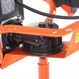FUXTEC FX-EB152 Benzin Erdbohrer inkl. 100 150 200 mm Bohrer