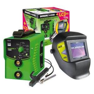 GYS Elektroden-Schweißgerät 160 A mit LCD-Schweißhelm
