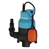 Die handliche, robuste GARDENA Schmutzwasserpumpe 6000 dient der Entwässerung sowie dem Um- und Auspumpen von Schmutzwasser.