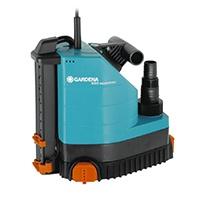 Die GARDENA Comfort Tauchpumpe 9000 aquasensor ist genau die richtige Pumpe bei überraschendem Wassereintreten.