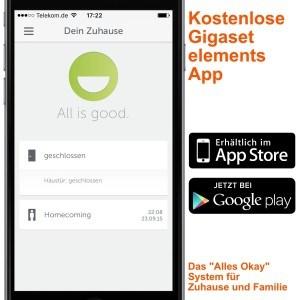 Gigaset Elements Starter Kit App